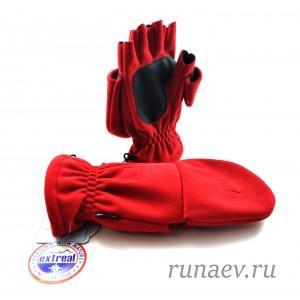 Перчатки Extreal WINDBLOC VALDAY с откидн.верхом (на магните)