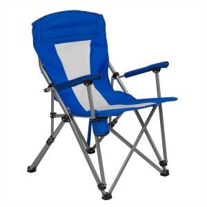 Кресло с подлокотниками (нагрузка до 100 кг) сетка