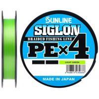 Плетёнка Sunline SiGLON PEx4 150м 0,8 (12 lb 0,153) Light Green