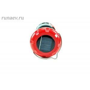 Фонарь кемпинговый аккумуляторный. Зарядка от солнца (KT-610)
