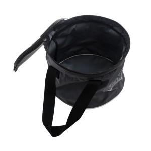 Ведро FLAGMAN складное с крышкой Bucket With Cover 9,8л