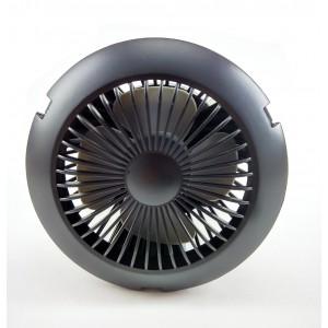 Фонарь аккумуляторный зарядка от солнца+вентилятор HM-04U01T