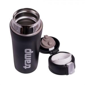 Термос Tramp 0,35 л. питьевой арт.TRC-106 чёрный