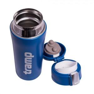 Термос Tramp 0,45 л. питьевой арт.TRC-107 синий