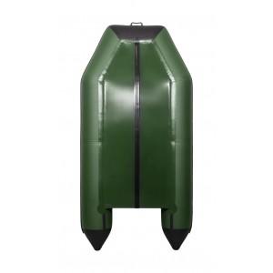 Лодка ПВХ Аква 2900 Слань-Книжка К зелёный/чёрный