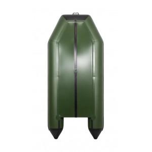 Лодка ПВХ Аква 3200 Слань-Книжка К зелёный/чёрный
