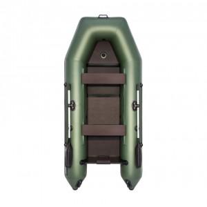 Лодка ПВХ Аква 3200 Слань-Книжка К зелёный