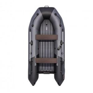 Лодка ПВХ Таймень NX 3200 НДНД графит-чёрный