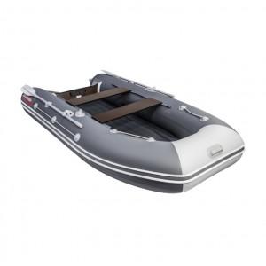 Лодка ПВХ Таймень LX 3400 НДНД графит-св.серый