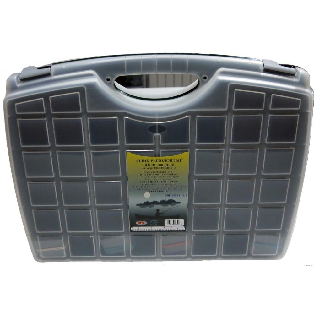 Коробка PROFBOX RD-40 425х330х85 мм двухсторонняя