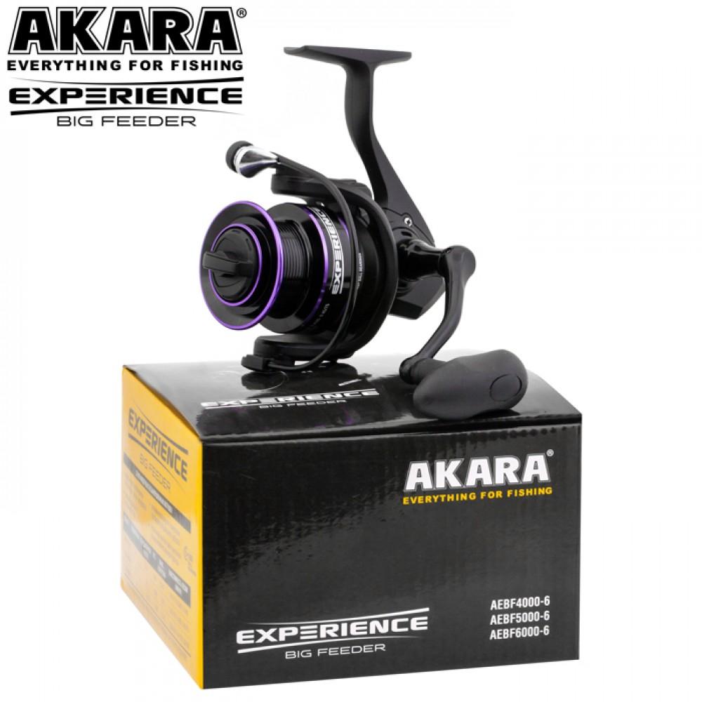 Катушка Akara EXPERIENCE Big FEEDER AEBF6000 5+1 п.