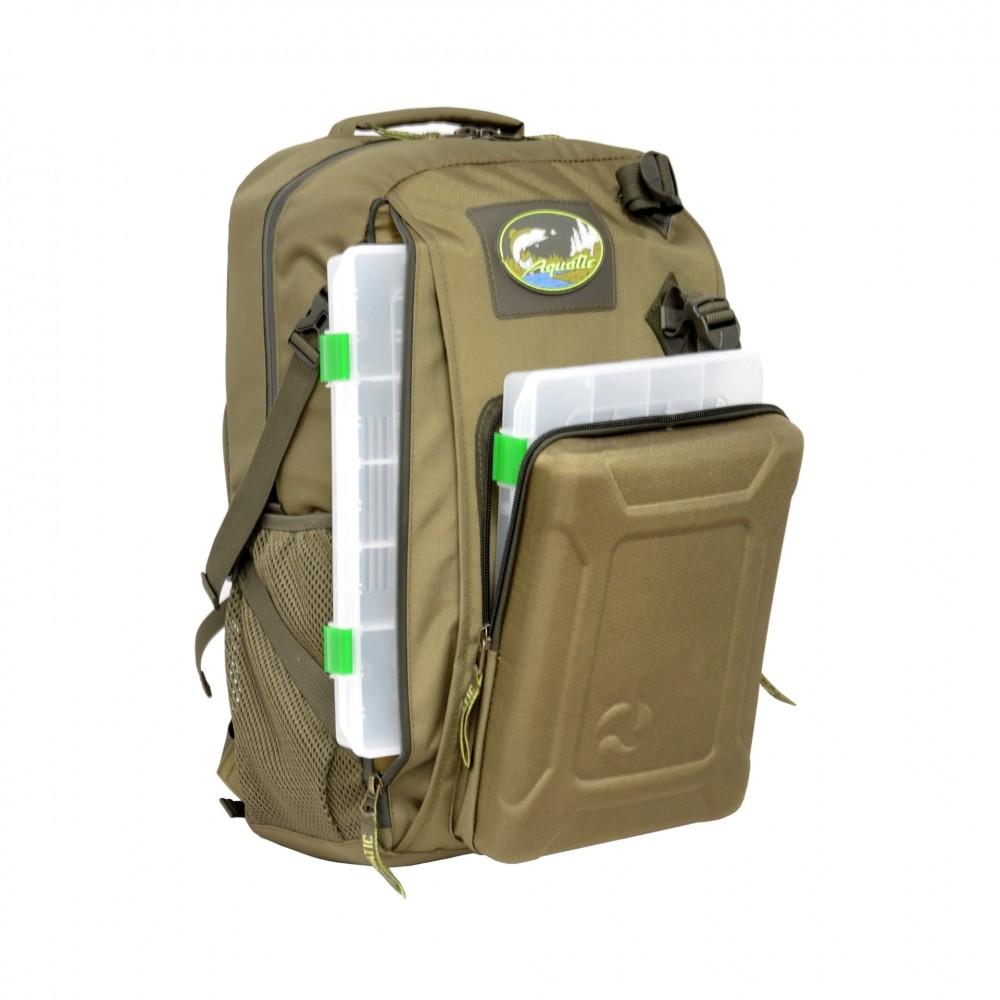 Рюкзак рыболовный Aquatic РК-02С с коробками FisherBox
